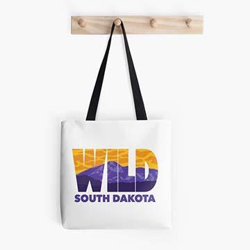 Wild South Dakota Tote Bag