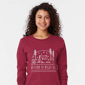 my kind of night out sweatshirt